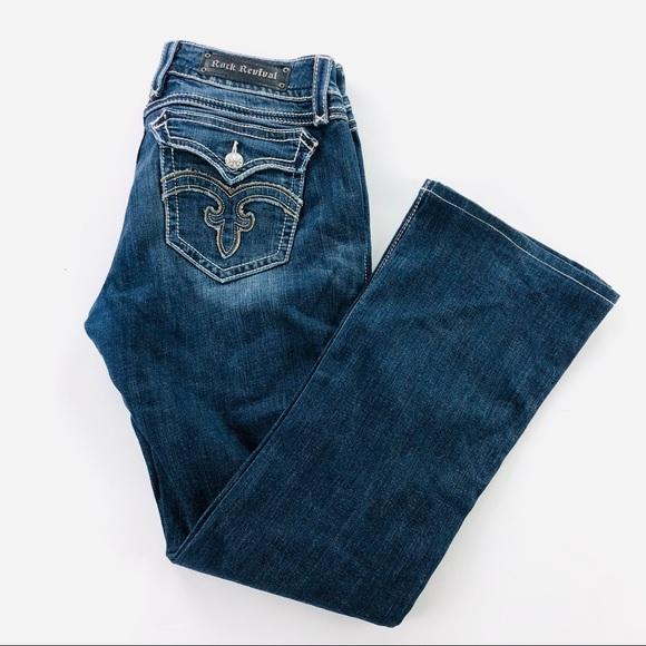 Rock Revival Denim - Rock revival boot cut jeans